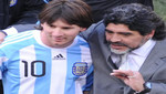 Maradona también sale en defensa de Messi