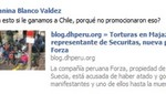 Facebook de la SNMPE es escenario de críticas por spot de Oblitas