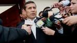 Ollanta Humala viaja hoy a Estados Unido para exposición en la ONU