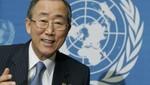 Secretario de las Naciones Unidas celebra el fin de la era Gadafi