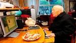 Anciano de 103 años es el más viejo del Twitter