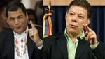 Rafael Correa: 'Relaciones con Colombia pasan por un buen momento'