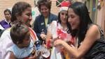 Nadine Heredia visitó internas de Santa Mónica por Navidad