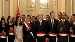 La 'gran cruz' del presidente Ollanta Humala