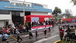 San Luis vibró de peruanidad en Desfile Cívico Escolar