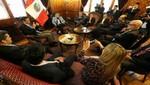Congreso recibió a líder venezolano Henrique Capriles