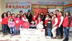 """GISELA y CLARO entregaron segunda meta de la campaña """"Recibos de Felicidad"""" a niños de ANIQUEM"""