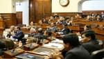 Pleno otorgó voto de confianza a gabinete Zavala