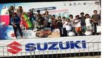 Escolares vivieron fiesta deportiva en San Bartolo en el Suzuki Surfing Festival