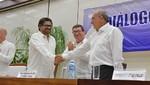 Colombia celebra el acuerdo de paz entre el gobierno y rebeldes de las FARC