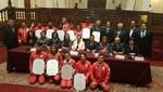 Congreso rinde homenaje a participantes en Juegos Olímpicos Río 2016