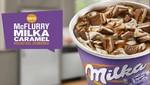 Llegó la primavera a McDonald's con el nuevo McFlurry Milka Caramel