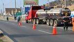 MDV y SUTRAN intervienen vehículos de carga que transportaban materiales peligrosos para la salud de los vecinos