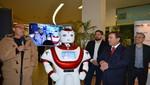 Liderman incorpora a un robot para la seguridad y orientación de los visitantes de La Rambla San Borja