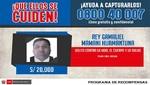 Arequipa tiene 18 prófugos de la justicia en la lista del programa de recompensas