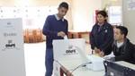 Estudiantes y docentes de la Universidad del Callao sufragan por primera vez con Voto Electrónico Presencial