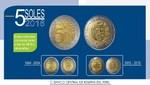 BCRP pone en circulación nueva moneda de cinco soles 2016