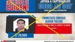 Capturan a ex policía acusado de asesinato en Trujillo