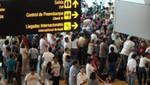 Movimientos de entradas de extranjeras y extranjeros al país aumentaron 13,4%