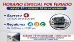 Expreso 4 reforzará servicio del Metropolitano los días feriados por cumbre de APEC