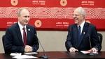 Presidentes Kuczynski y Putin acordaron triplicar comercio bilateral e incrementar cooperación mutua