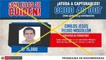 Policía capturó Carlos Feijoo acusado de intento de feminicidio en agravio de Milagros Rumiche