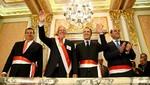 Presidente Kuczynski juramentó a Ministros de Defensa y Cultura en Palacio de Gobierno