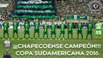 El Chapecoense: Digno Campeón de la Copa Sudamericana 2016
