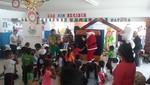 Celebración navideña llenó de alegría a niños de Chilca