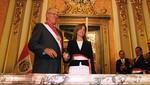 Jefe de Estado tomó juramento a Marilú Martens como Ministra de Educación