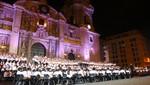 Más de 1300 niños de Sinfonía por el Perú dieron concierto gratuito en el Atrio de la Catedral de Lima