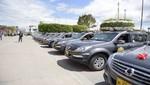 Ministerio del interior entrega 18 patrulleros y 48 camionetas a región San Martín