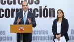 Gobierno anuncia paquete legislativo para la lucha contra la corrupción