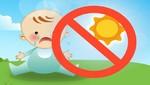 Recomendaciones para cuidar la salud de su bebé durante el verano