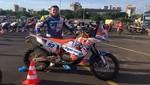 Dakar 2017: Carlo Vellutino ya se ubica entre los 100 mejores en motos