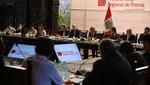 Se realizó la primera Mesa Regional de Prensa en Palacio de Gobierno