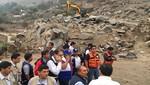 INDECI brinda asistencia técnica tras huaicos en Santa Eulalia