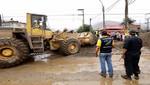 MML libera Carretera Central bloqueada por huaico que afecta zona este de la capital