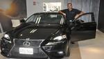 LEXUS entrega el IS200T a Sbastian Salem, embajador de la marca
