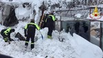 Italia: Seis personas fueron encontradas vivas tras avalancha que sepultó un hotel
