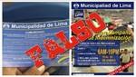 Protransporte denunciará a responsables de falsa campaña en el Metropolitano