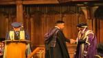 Ingeniero peruano obtiene grado de maestria en Universidad de Manchester, ocupando el primer puesto