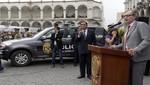 Región Arequipa ya cuenta con 133 patrulleros nuevos para reforzar la seguridad ciudadana