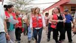 Ministra de Educación supervisó colegios afectados por las lluvias e inundaciones en Ica