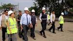 Presidente Kuczynski inspeccionó trabajos de instalación final del puente Bailey en Huaycoloro
