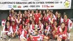 Trujillo albergará el 3er Campeonato Sudamericano de Sóftbol Sub 15