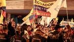 Ecuador: La tensión aumenta tras el recuento de votos de las elecciones presidenciales