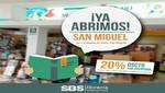 Cadena de Librerías SBS Internacional inaugura local en San Miguel