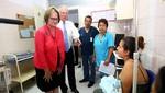 Jefe de Estado verificó atención de pacientes en Instituto Nacional Materno Perinatal