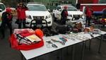 Mincetur donó equipos de alta montaña a la Policía Nacional